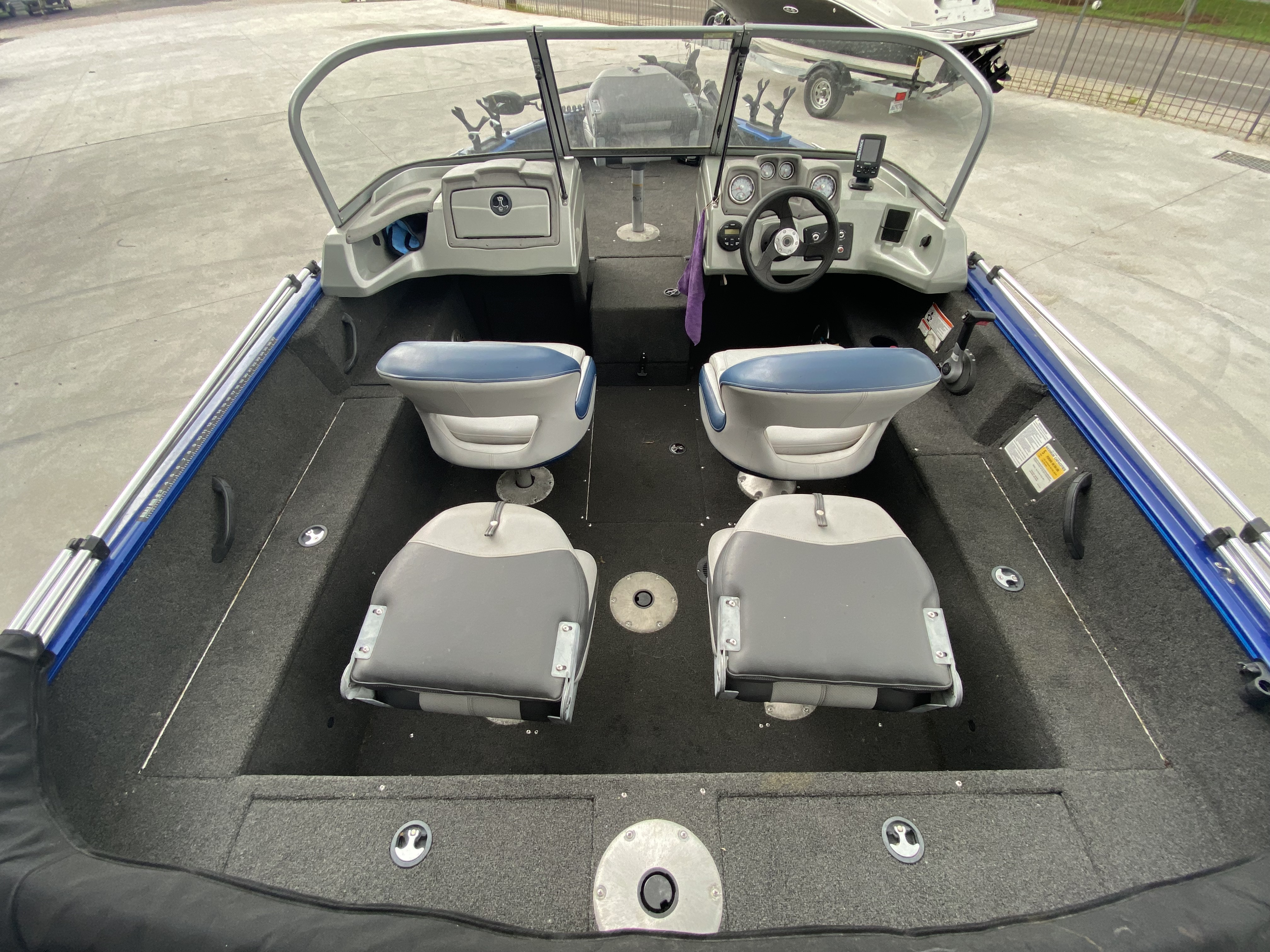 2016 Tracker Boats boat for sale, model of the boat is Pro Guide 175 WT & Image # 5 of 20