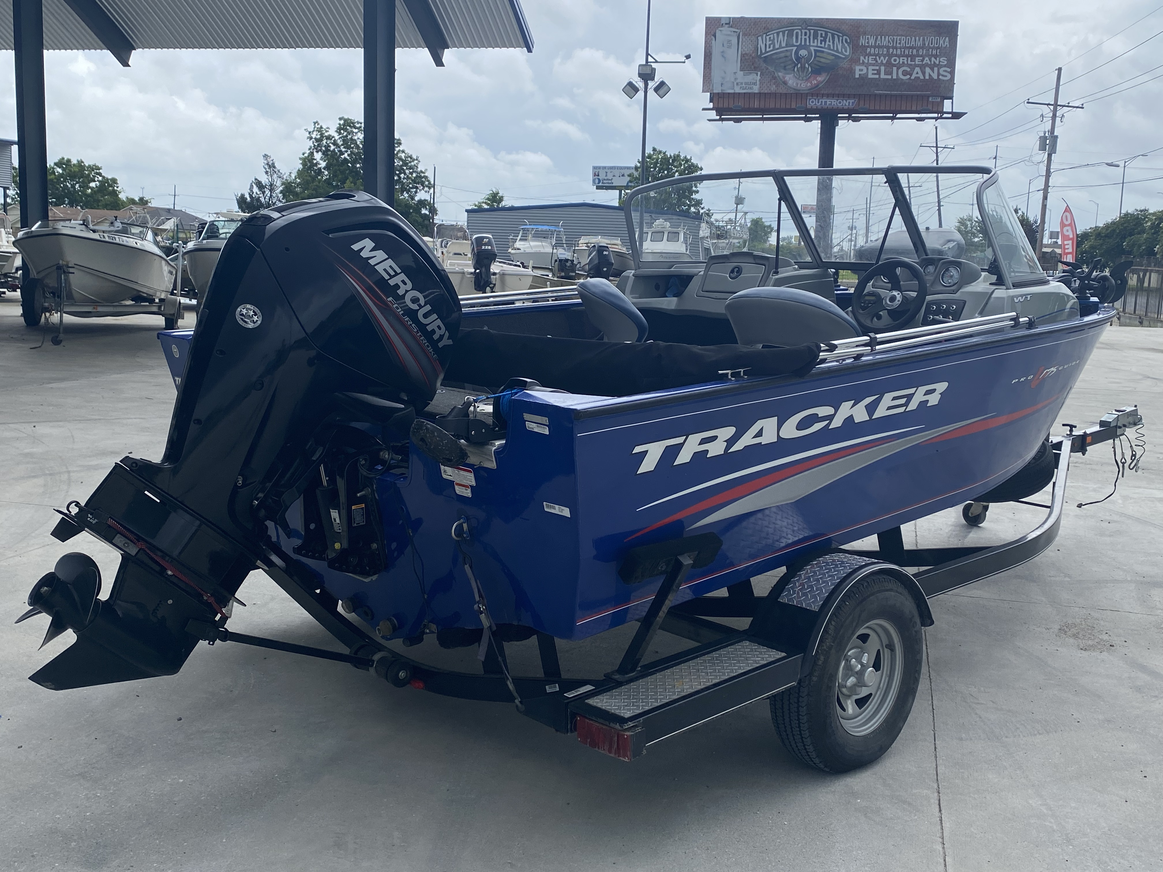 2016 Tracker Boats boat for sale, model of the boat is Pro Guide 175 WT & Image # 18 of 20