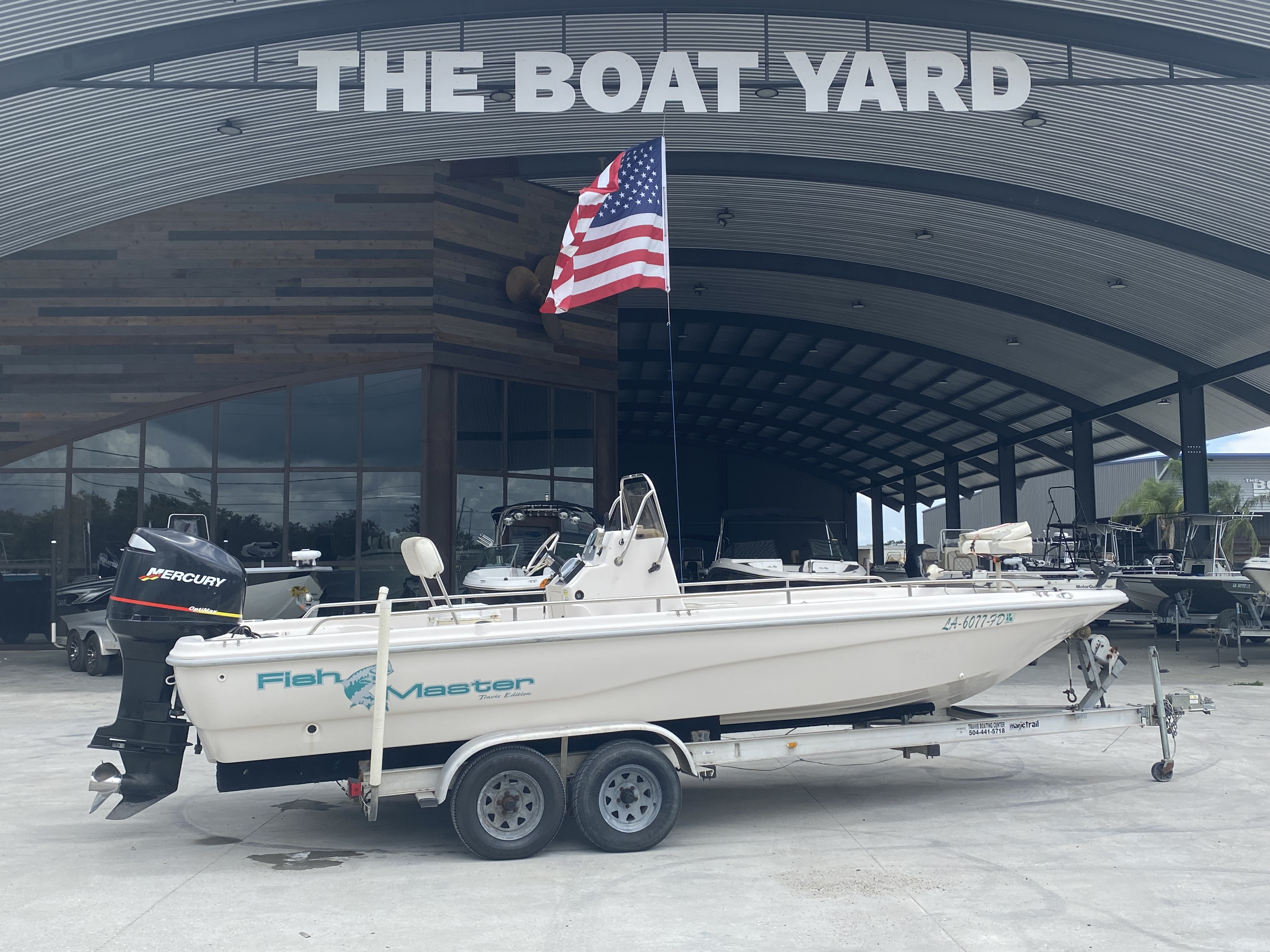 2001 Fish Master boat for sale, model of the boat is 23cc Travis Edition & Image # 1 of 11