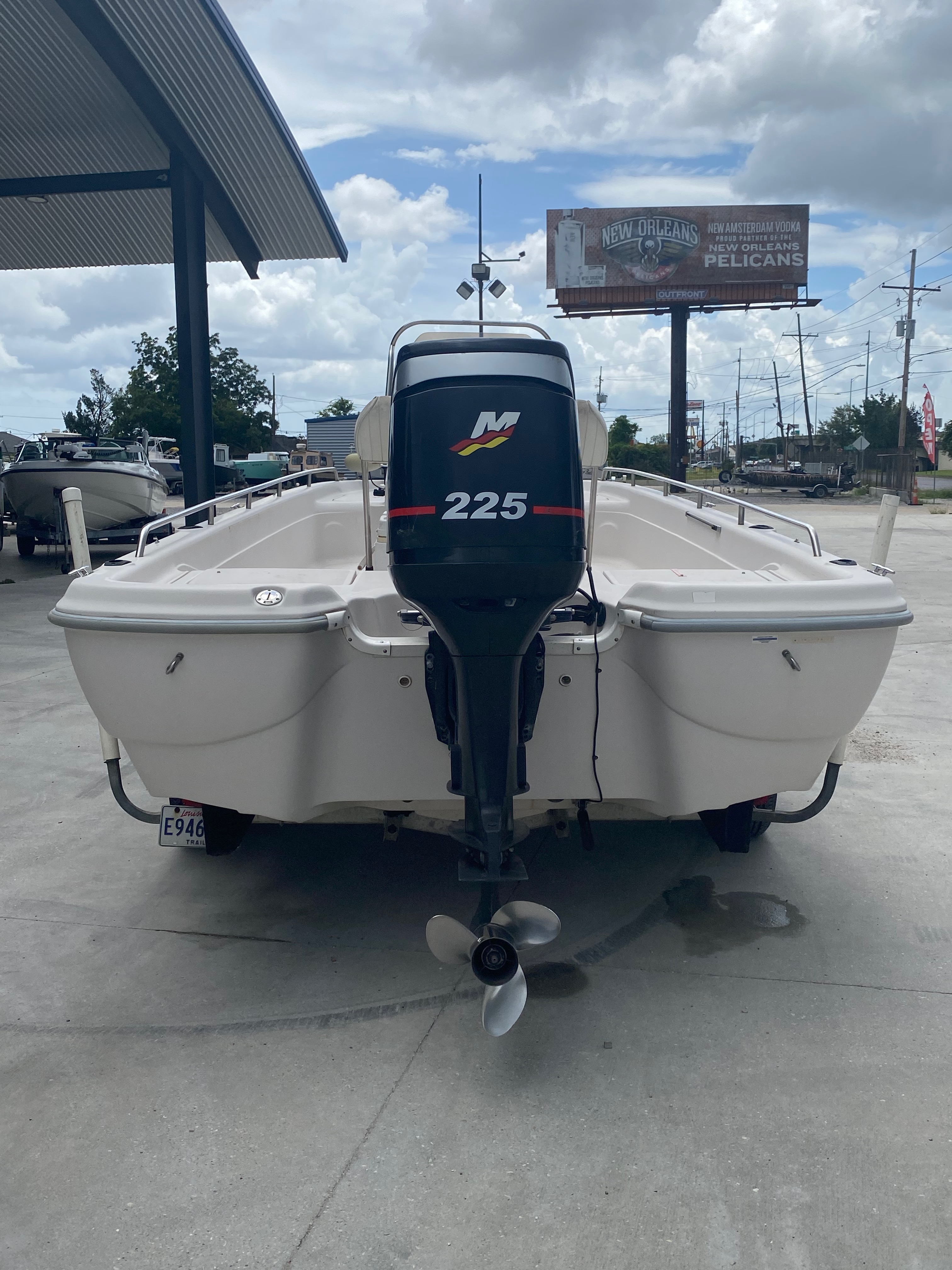 2001 Fish Master boat for sale, model of the boat is 23cc Travis Edition & Image # 8 of 11