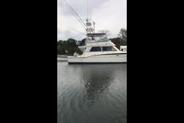 Hatteras 42 Cockpit Motor Yacht video