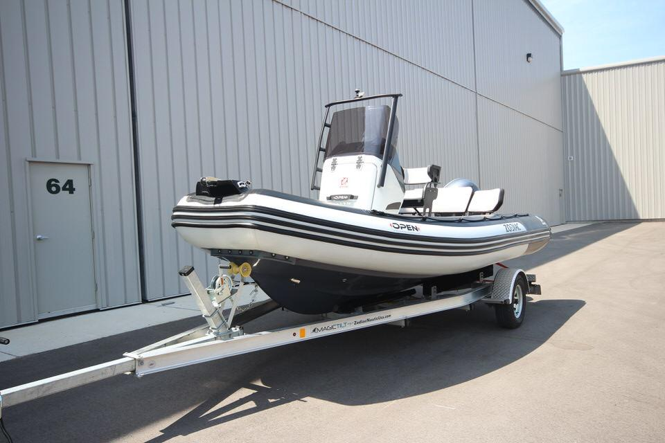 2022 Zodiac Open 5.5 NEO 115hp T-Top On Order, Image 3
