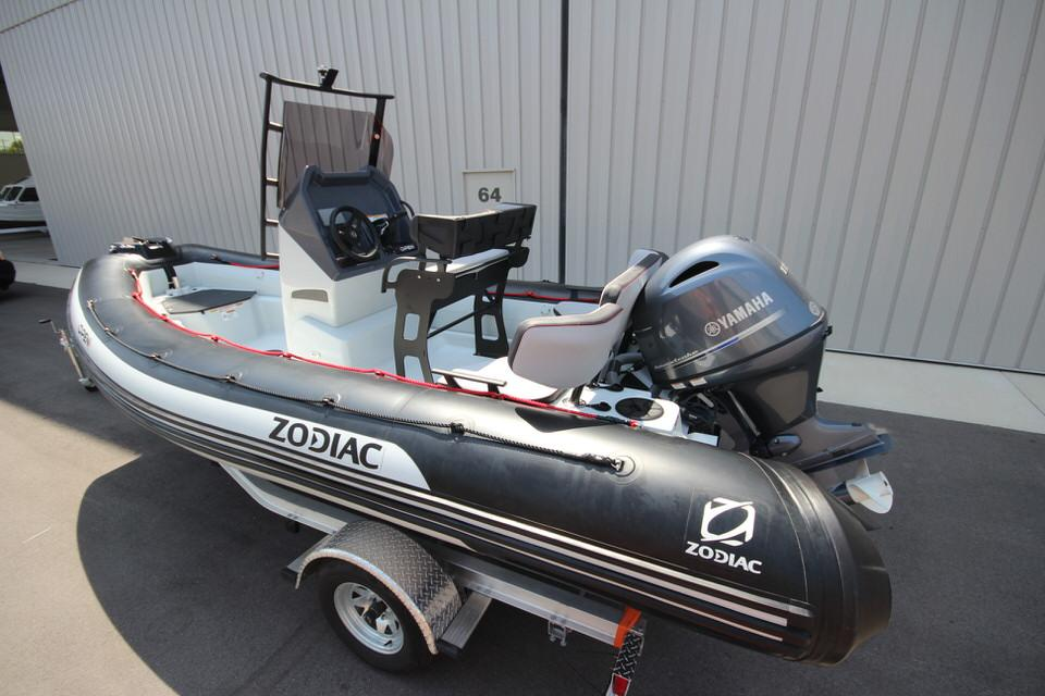 2022 Zodiac Open 5.5 NEO 115hp T-Top On Order, Image 7