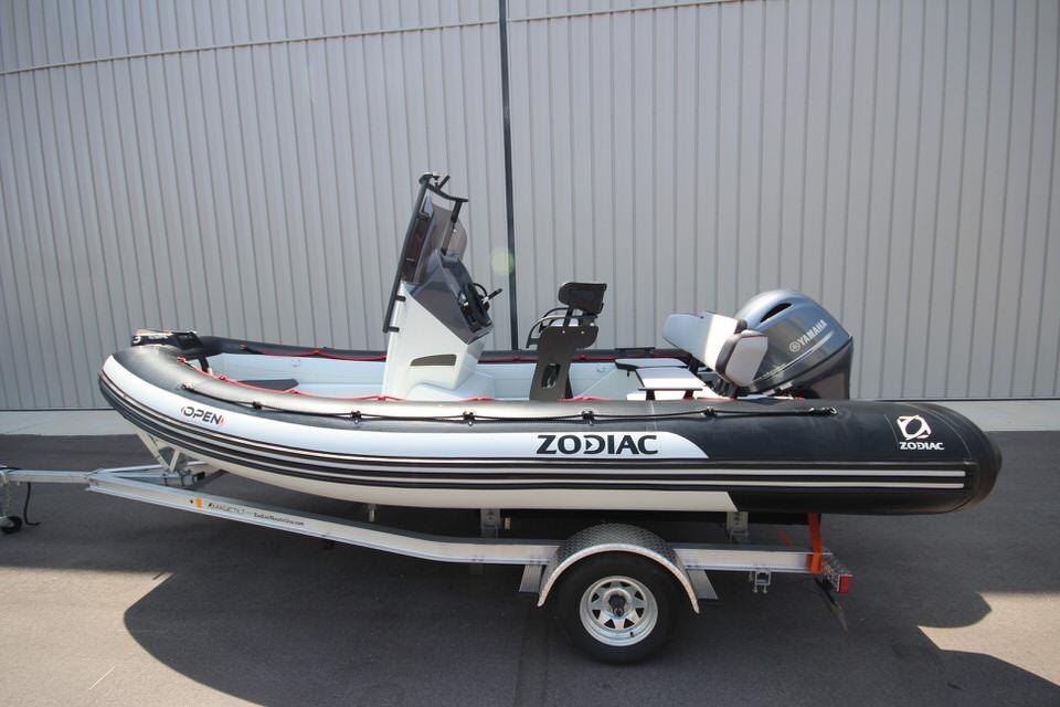 2022 Zodiac Open 5.5 NEO 115hp T-Top On Order, Image 2