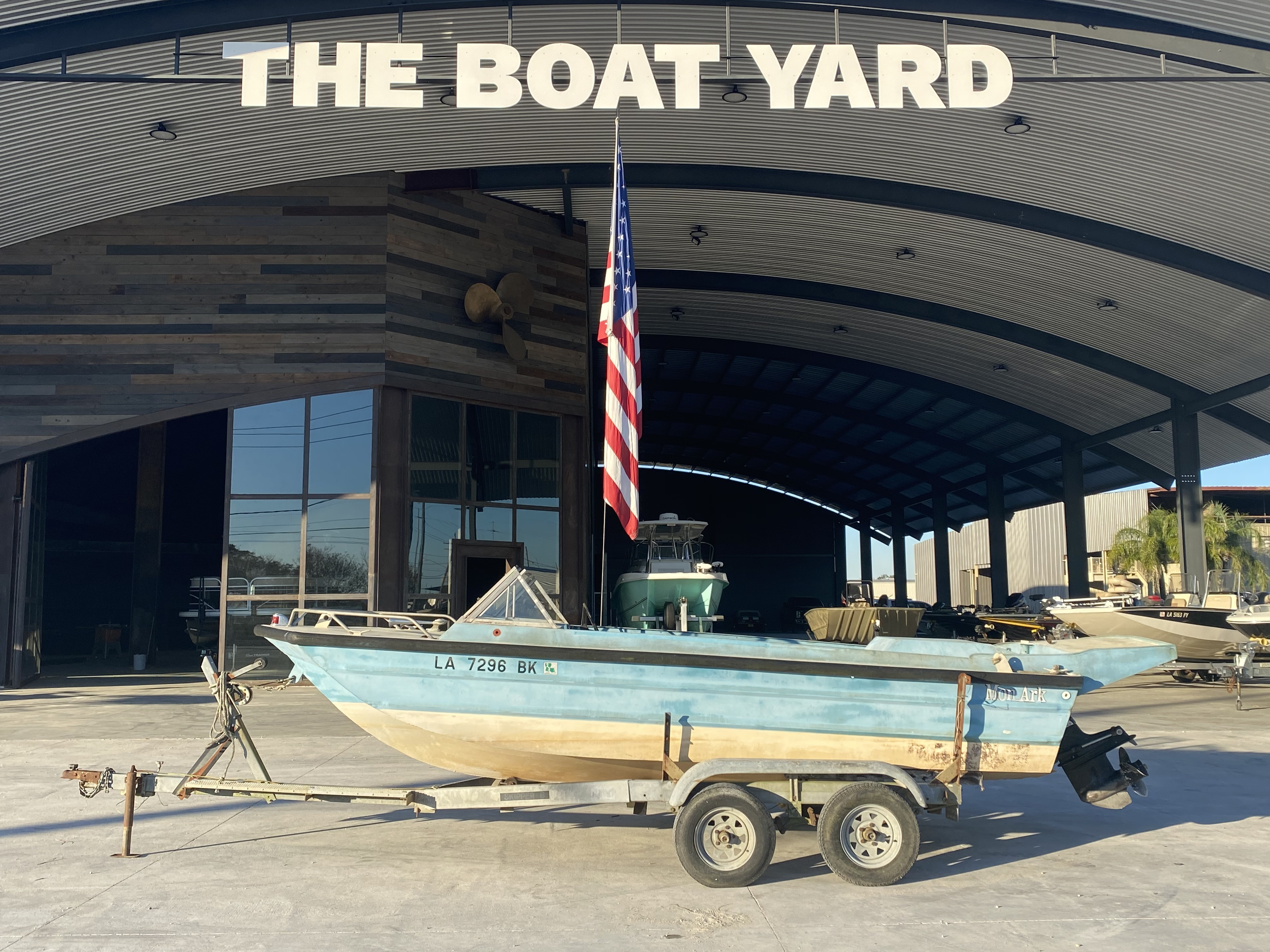 1977 Monark boat for sale, model of the boat is 17 & Image # 1 of 11