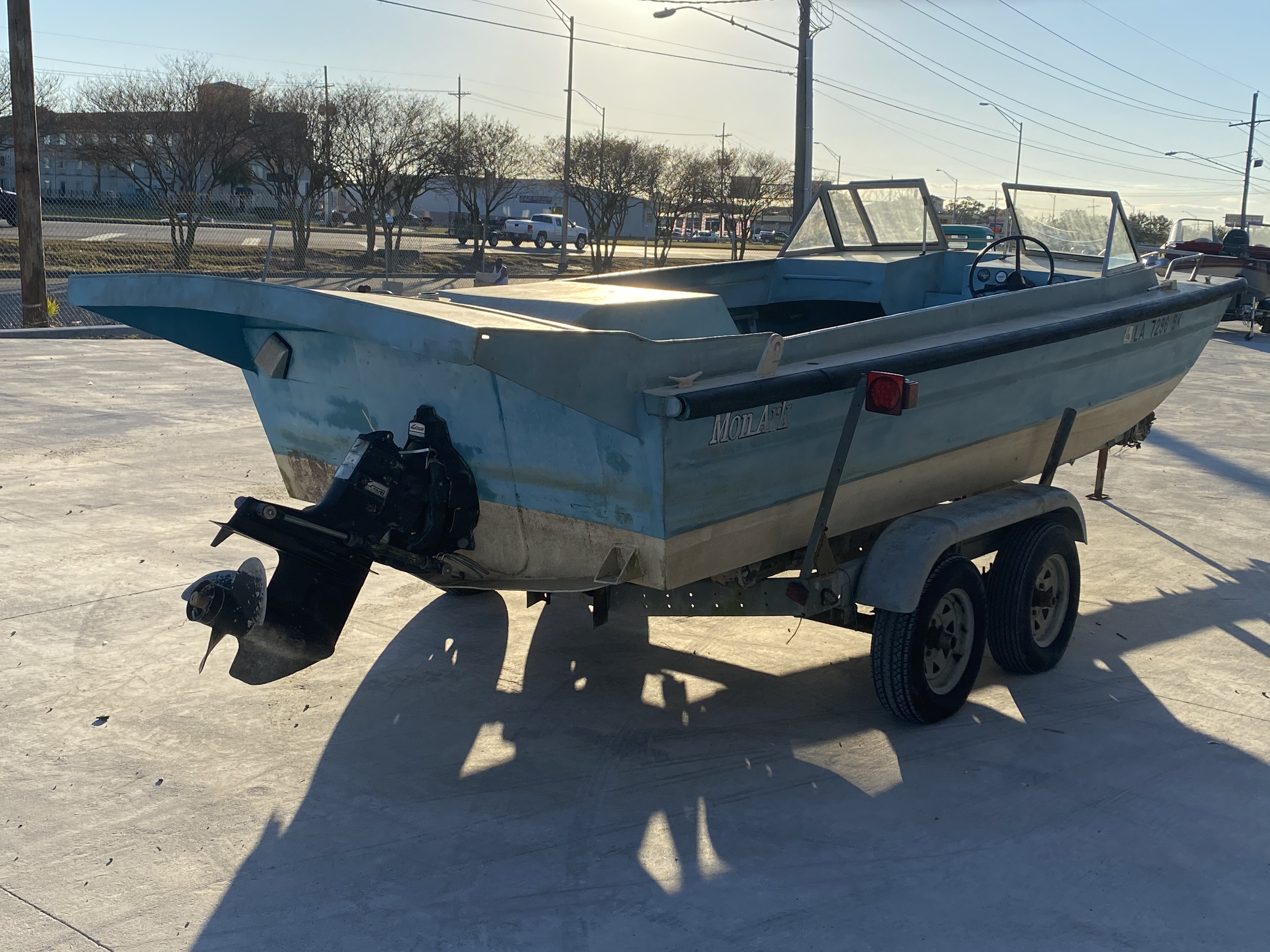 1977 Monark boat for sale, model of the boat is 17 & Image # 2 of 11
