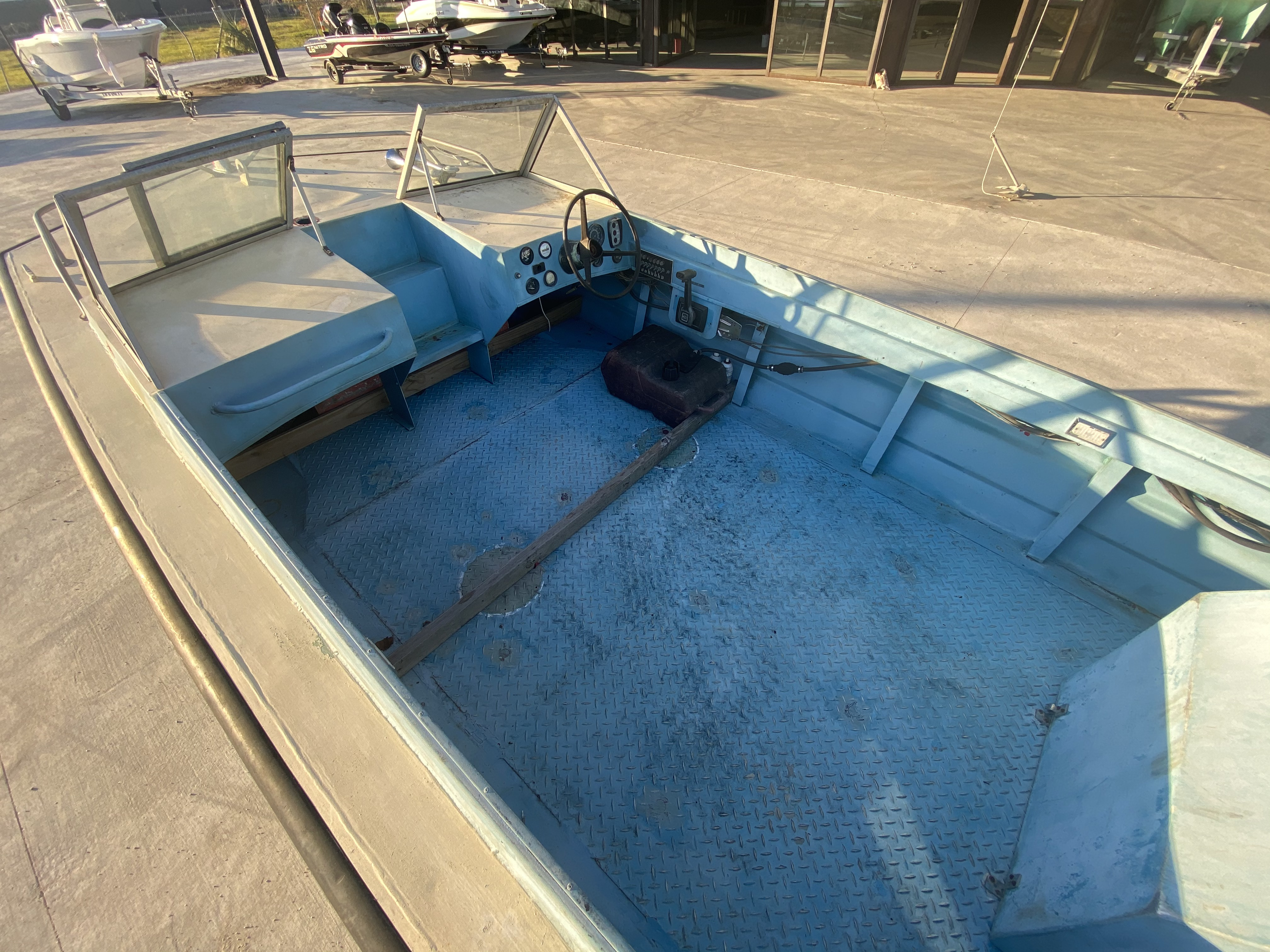 1977 Monark boat for sale, model of the boat is 17 & Image # 4 of 11