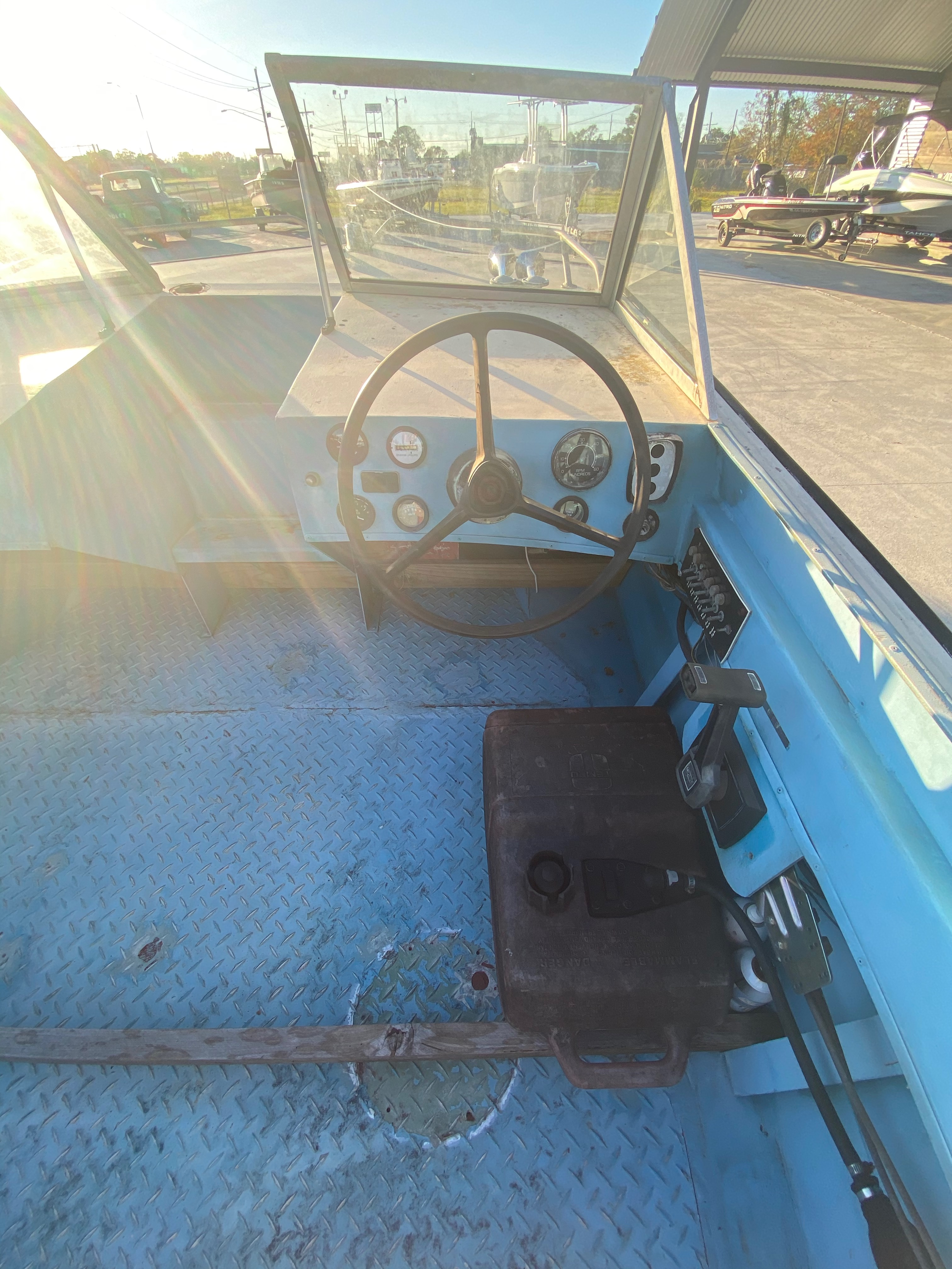 1977 Monark boat for sale, model of the boat is 17 & Image # 5 of 11