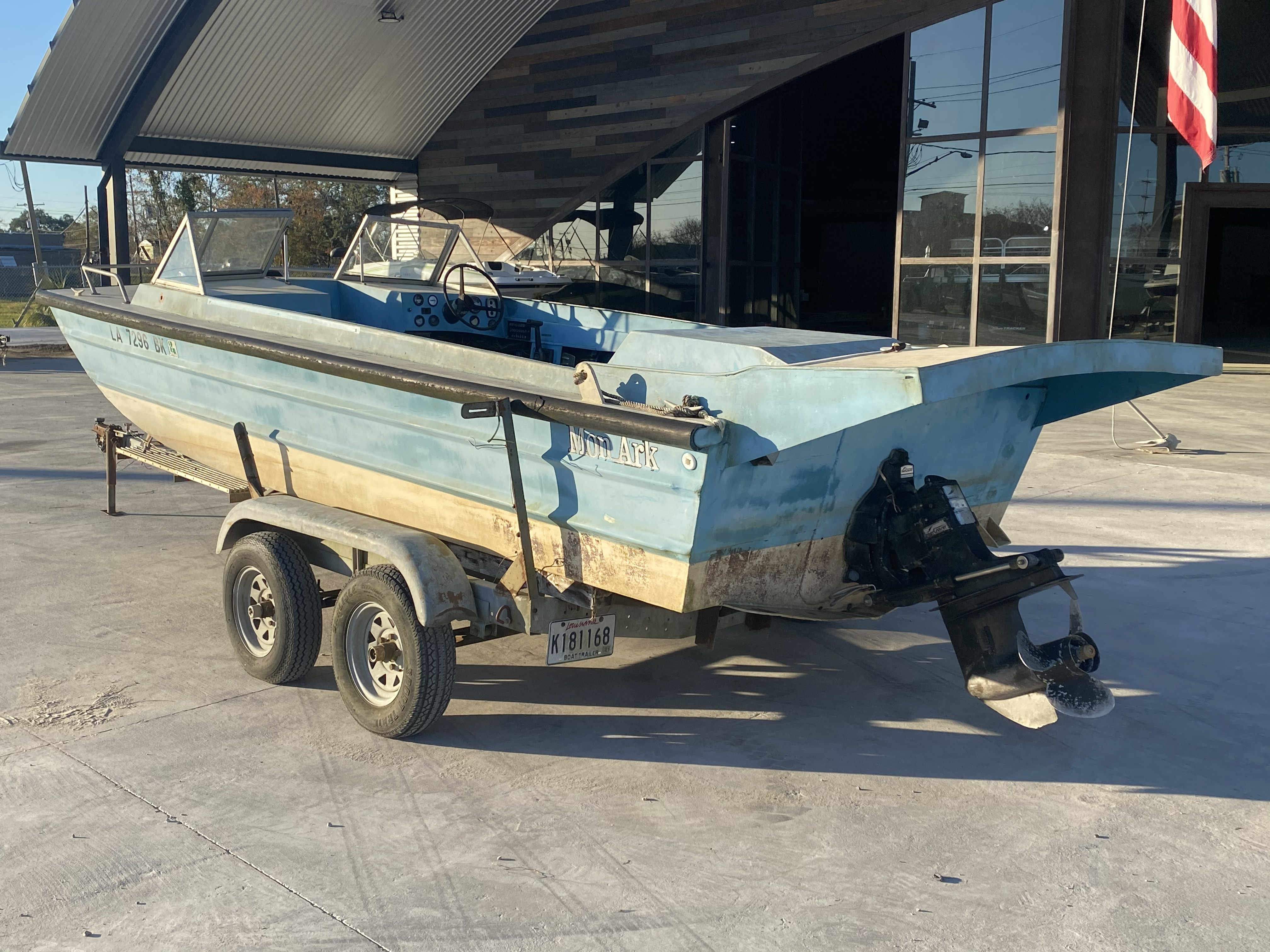 1977 Monark boat for sale, model of the boat is 17 & Image # 10 of 11