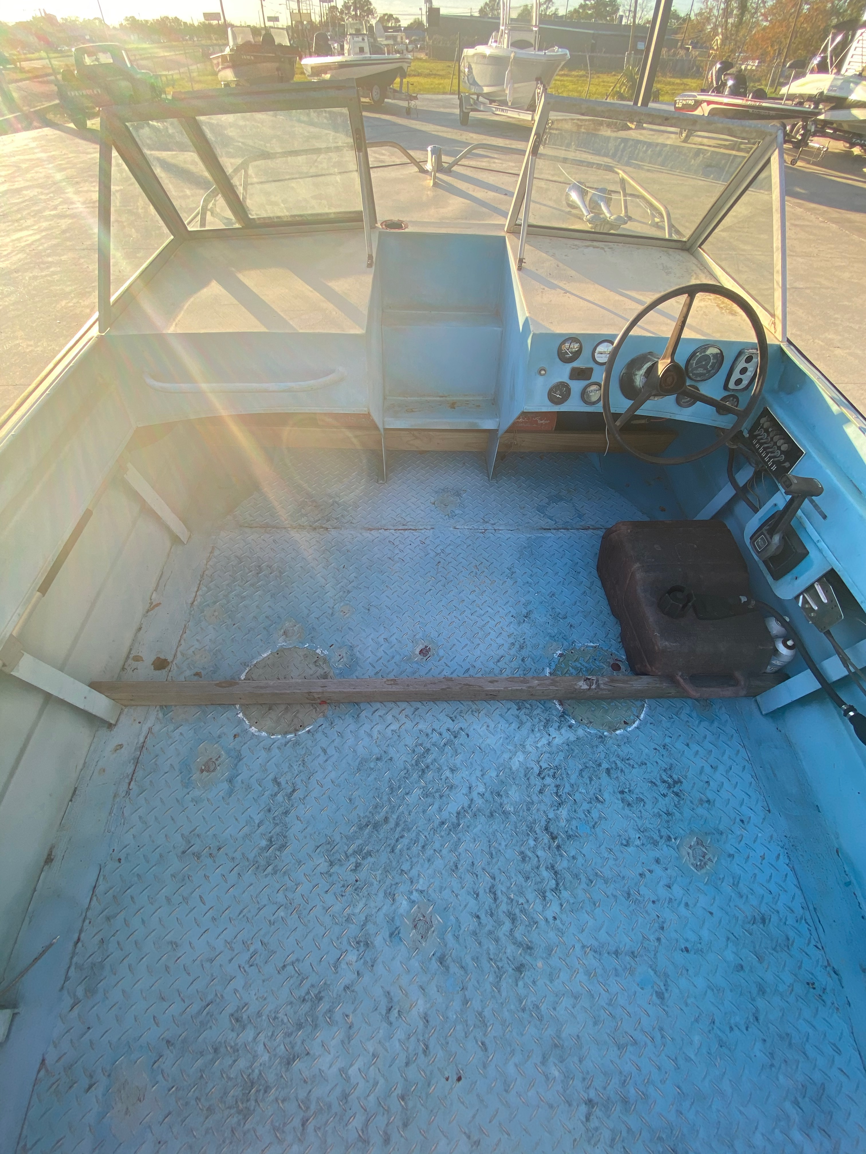 1977 Monark boat for sale, model of the boat is 17 & Image # 11 of 11
