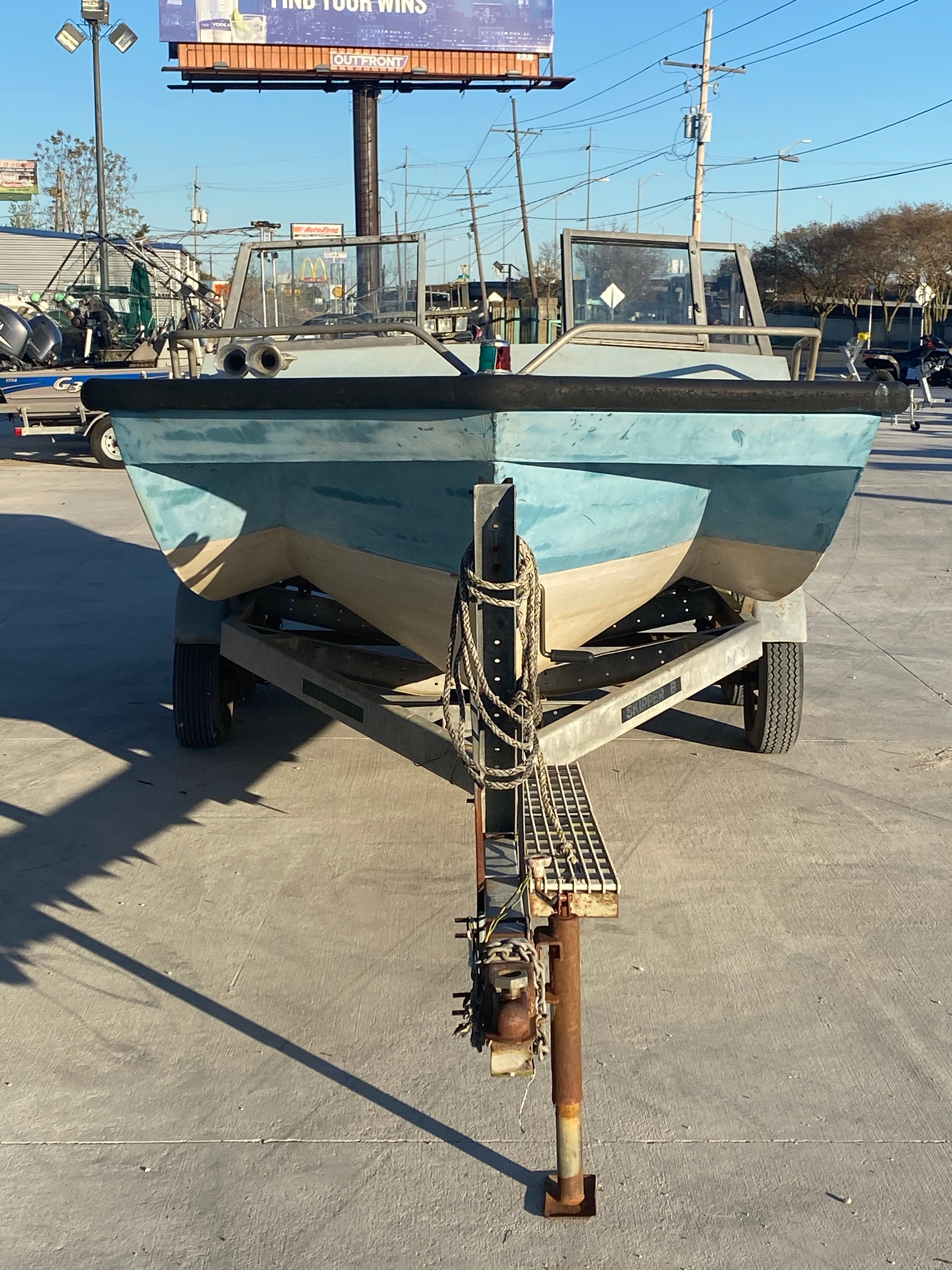 1977 Monark boat for sale, model of the boat is 17 & Image # 8 of 11