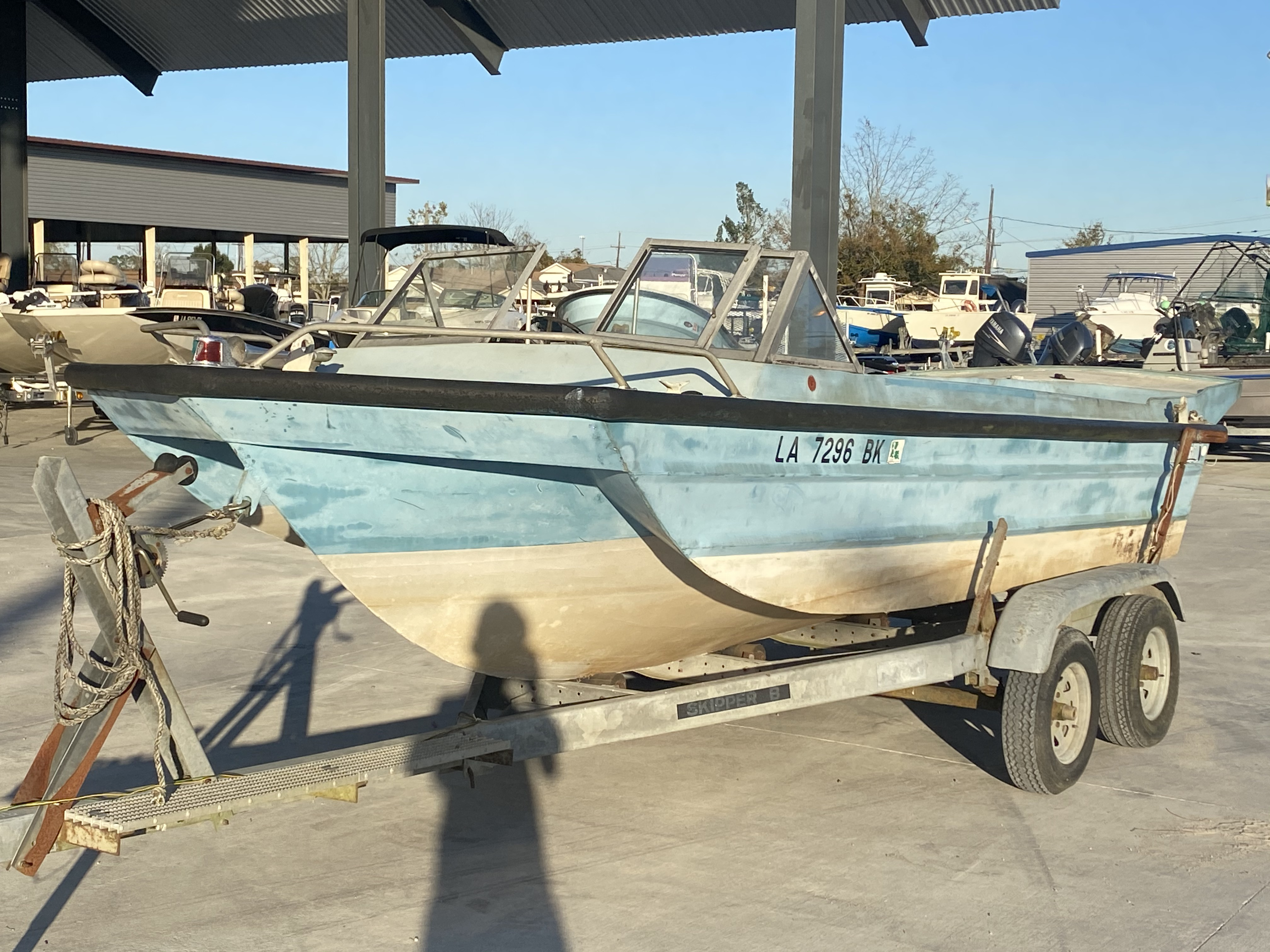 1977 Monark boat for sale, model of the boat is 17 & Image # 9 of 11