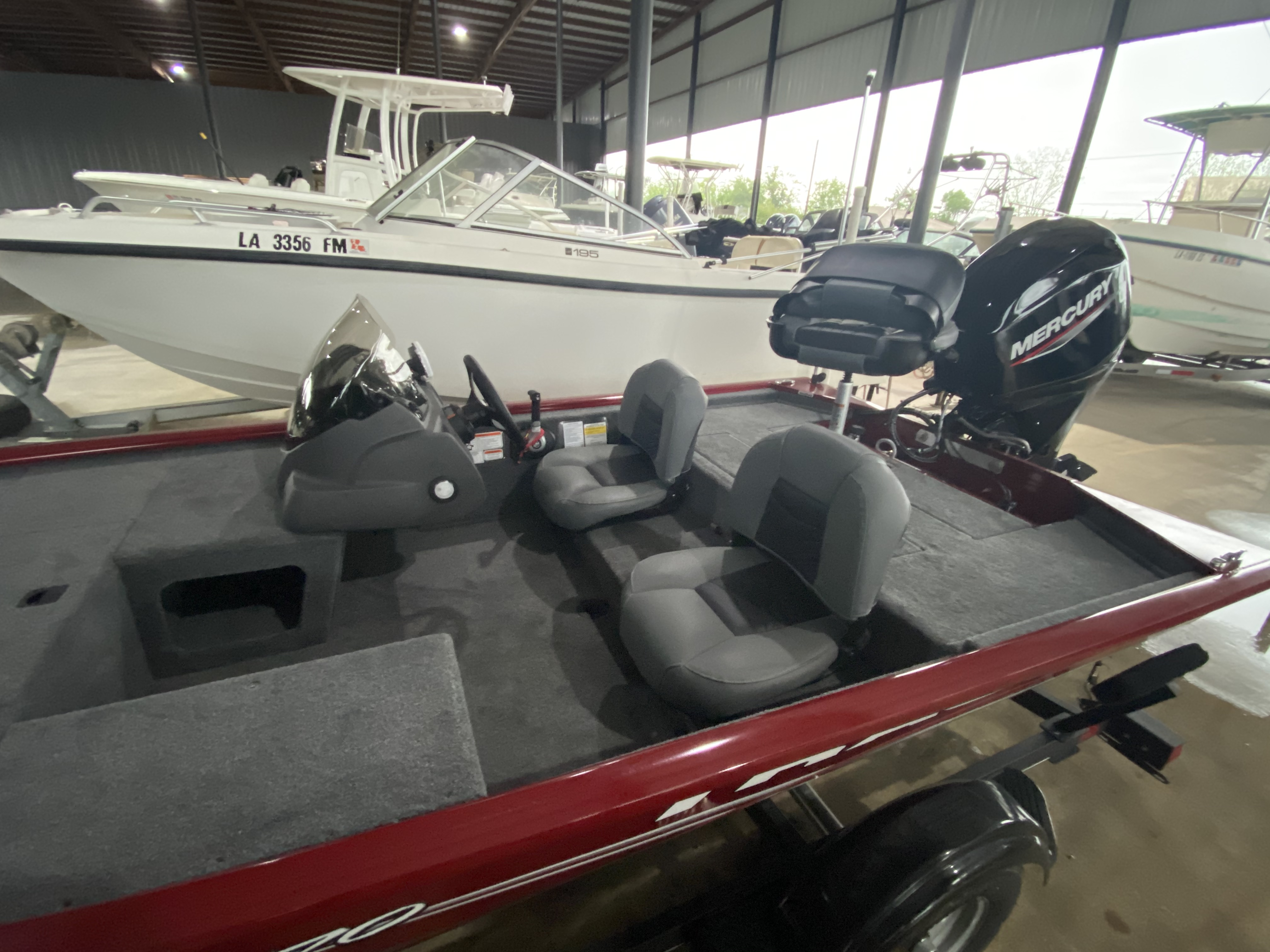 2021 Tracker Boats boat for sale, model of the boat is Pro 170 & Image # 8 of 10