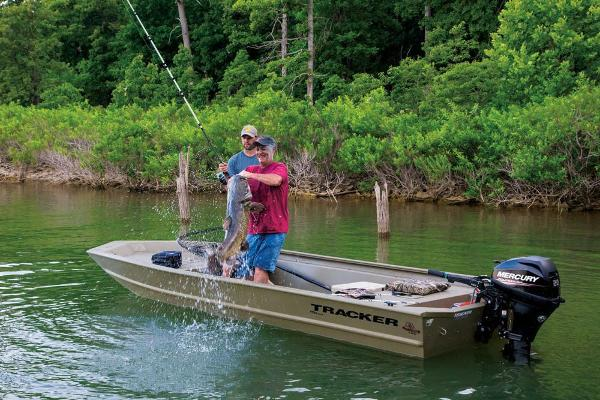 2019 Tracker Boats boat for sale, model of the boat is Grizzly 1754 Jon & Image # 2 of 20