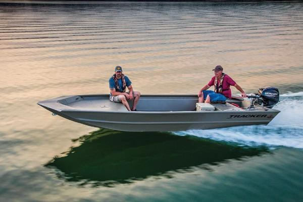 2019 Tracker Boats boat for sale, model of the boat is Grizzly 1754 Jon & Image # 6 of 20