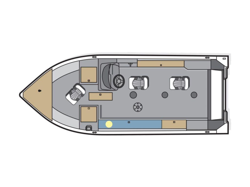 2020 Polar Kraft boat for sale, model of the boat is 186 SC OUTLANDER & Image # 2 of 11