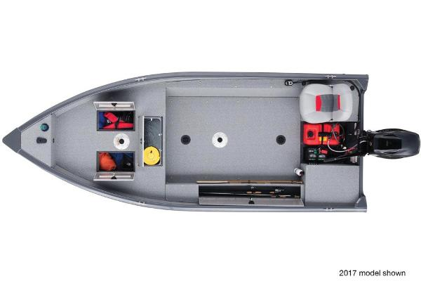 2018 Tracker Boats boat for sale, model of the boat is Guide V-16 Laker DLX T & Image # 6 of 11