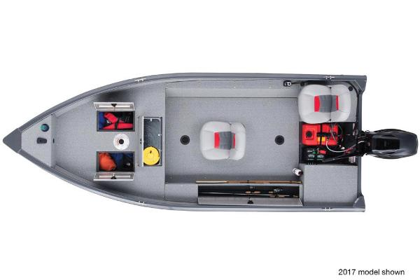 2018 Tracker Boats boat for sale, model of the boat is Guide V-16 Laker DLX T & Image # 7 of 11