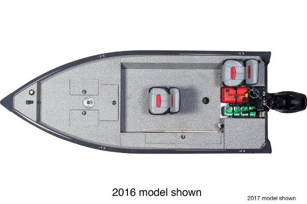 2018 Tracker Boats boat for sale, model of the boat is Guide V-16 Laker DLX T & Image # 8 of 11