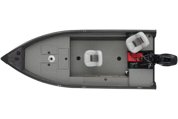 2018 Tracker Boats boat for sale, model of the boat is Guide V-16 Laker DLX T & Image # 9 of 11