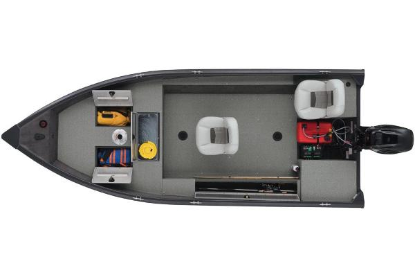 2018 Tracker Boats boat for sale, model of the boat is Guide V-16 Laker DLX T & Image # 10 of 11