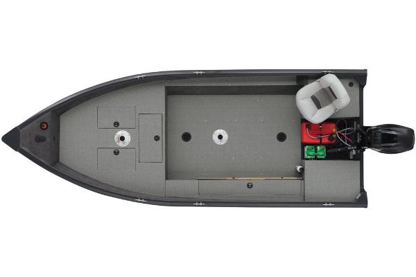 2018 Tracker Boats boat for sale, model of the boat is Guide V-16 Laker DLX T & Image # 11 of 11
