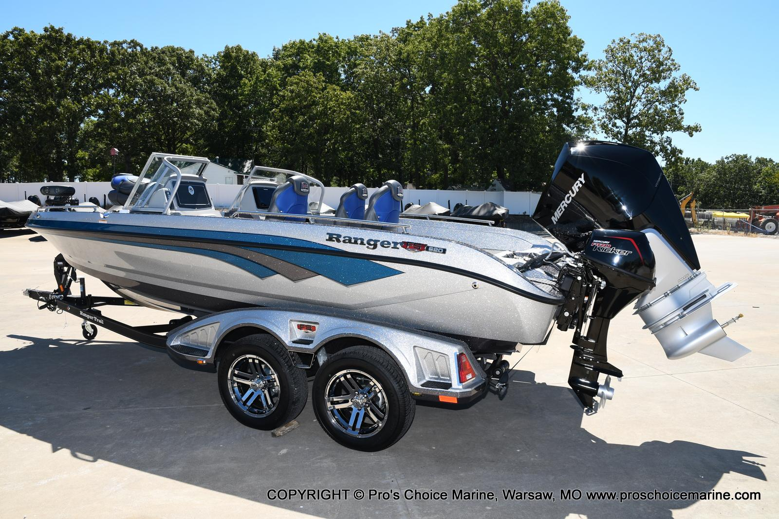 2021 Ranger Boats boat for sale, model of the boat is 620FS Pro w/300HP Verado & Image # 16 of 50