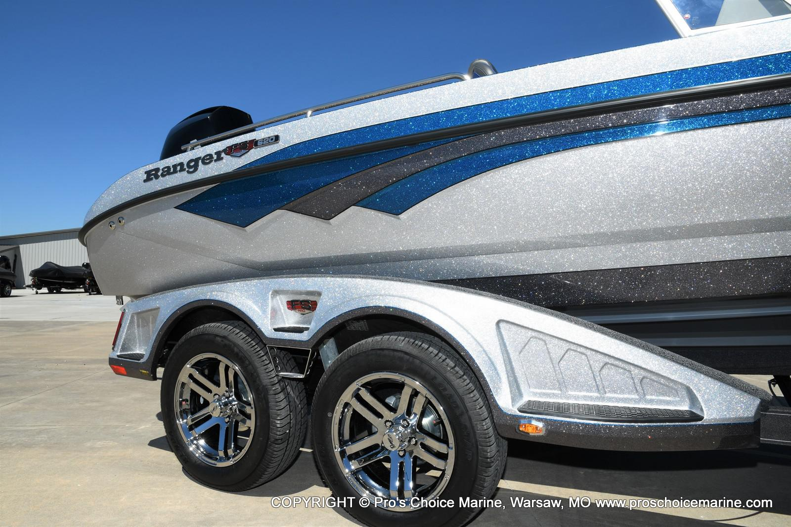 2021 Ranger Boats boat for sale, model of the boat is 620FS Pro w/300HP Verado & Image # 2 of 50