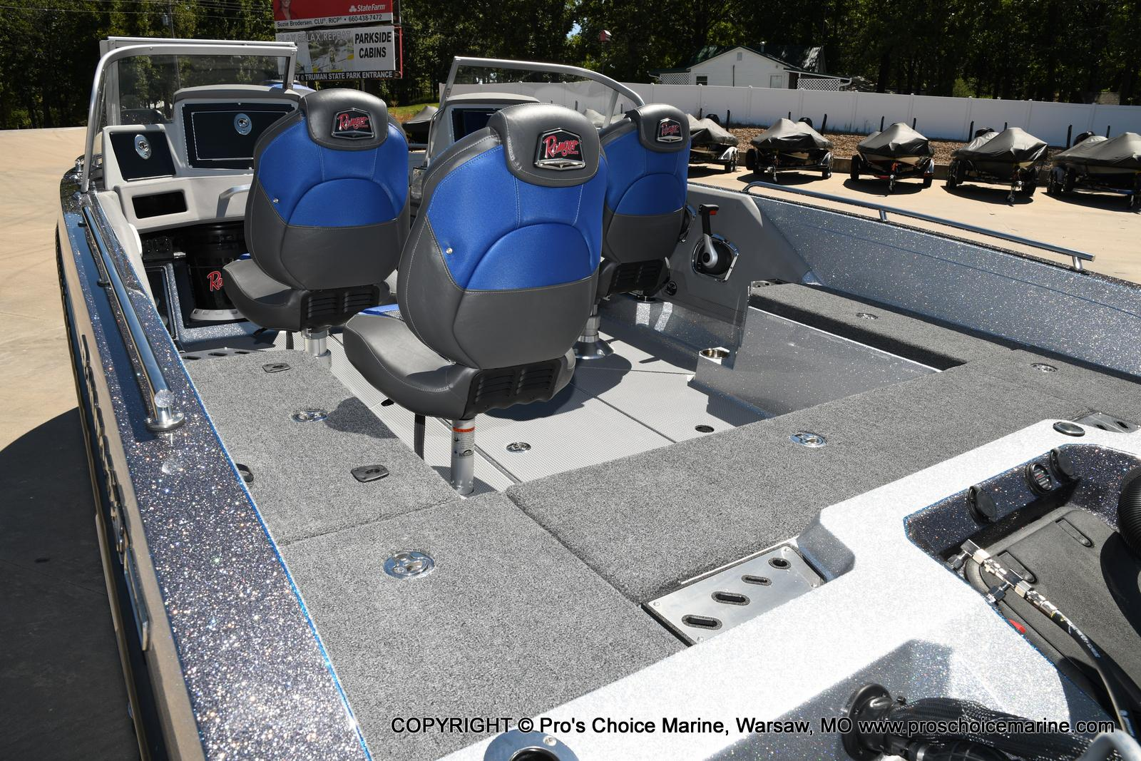 2021 Ranger Boats boat for sale, model of the boat is 620FS Pro w/300HP Verado & Image # 30 of 50