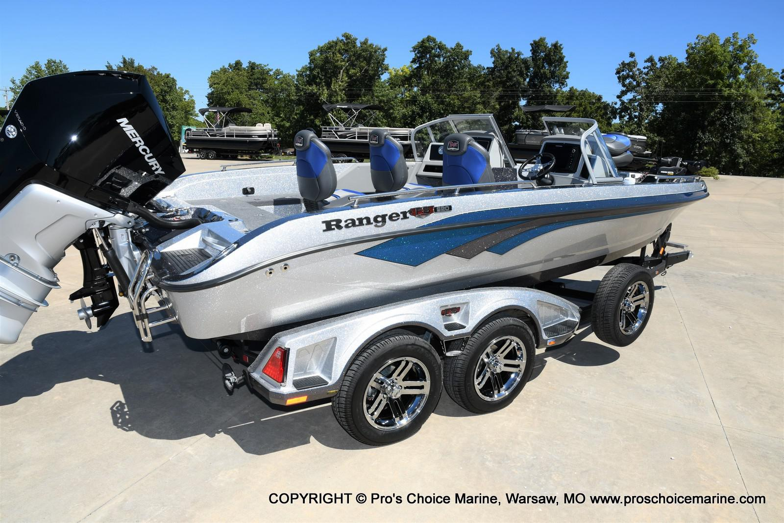 2021 Ranger Boats boat for sale, model of the boat is 620FS Pro w/300HP Verado & Image # 50 of 50