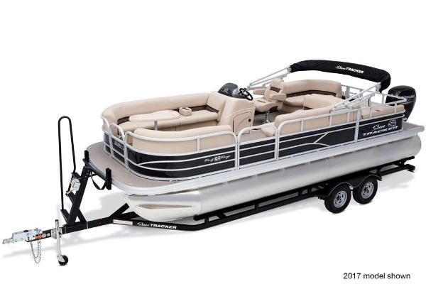 2018 Sun Tracker boat for sale, model of the boat is Party Barge 22 DLX & Image # 2 of 7
