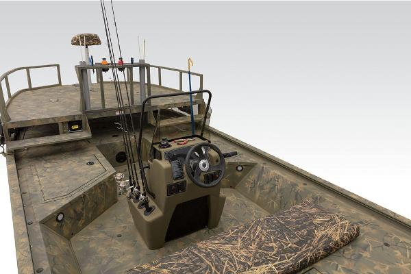 2021 Tracker Boats boat for sale, model of the boat is GRIZZLY® 2072 CC Sportsman & Image # 14 of 32