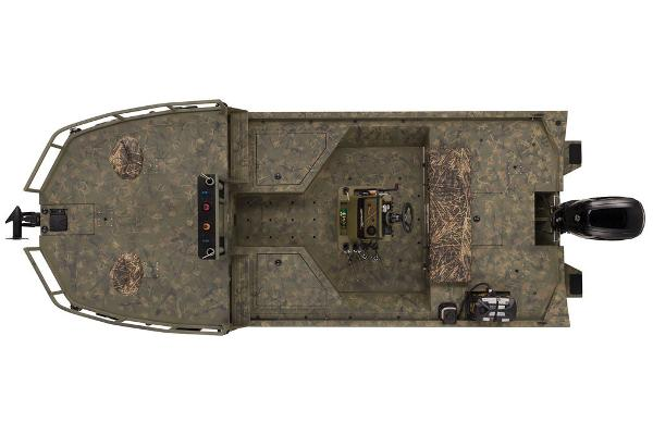 2021 Tracker Boats boat for sale, model of the boat is GRIZZLY® 2072 CC Sportsman & Image # 23 of 32