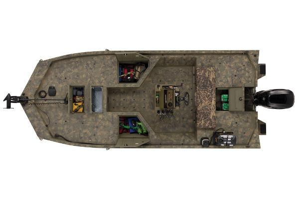 2021 Tracker Boats boat for sale, model of the boat is GRIZZLY® 2072 CC Sportsman & Image # 25 of 32