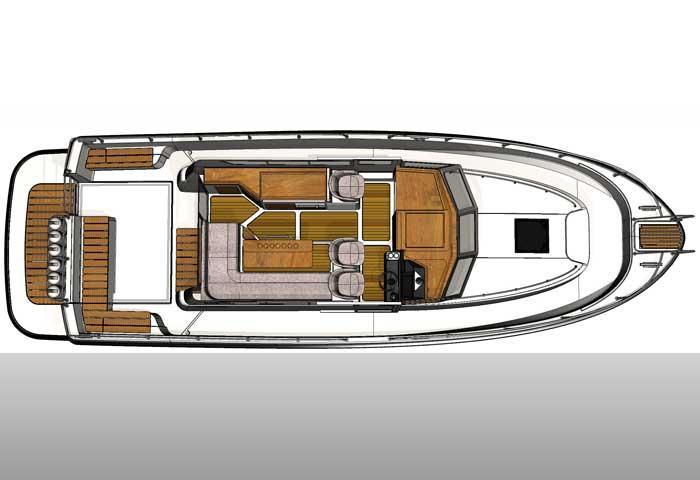 Sargo 36 deck plan