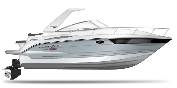 2021 Monterey boat for sale, model of the boat is 295 Sport Yacht & Image # 39 of 40