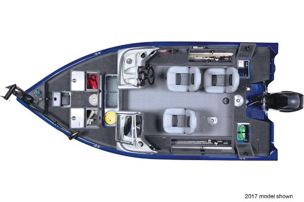 2018 Tracker Boats boat for sale, model of the boat is Pro Guide V-16 WT & Image # 3 of 4