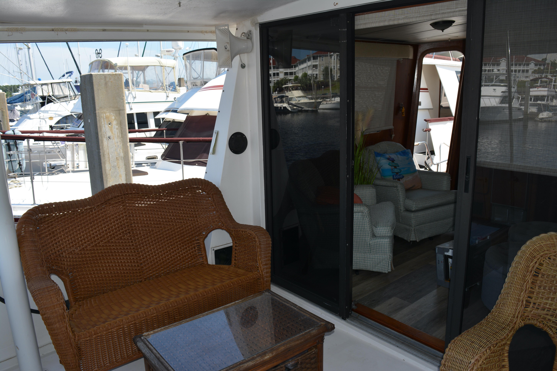 Gulfstar Aft Cabin - Back Deck Port