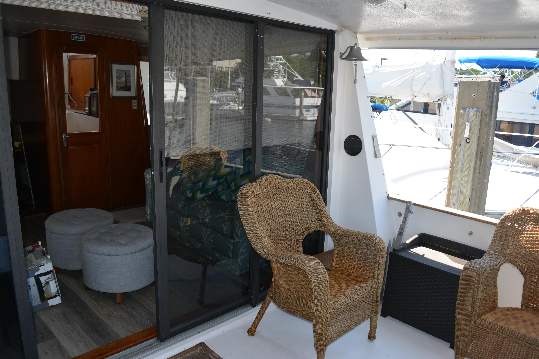 Gulfstar Aft Cabin - Back Deck Starboard