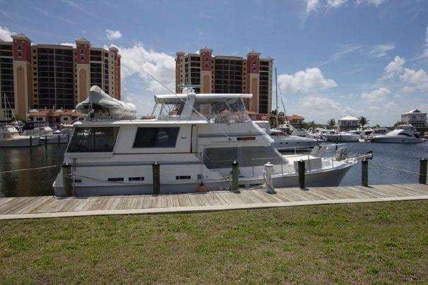 Gulfstar Aft Cabin - Starboard Beam