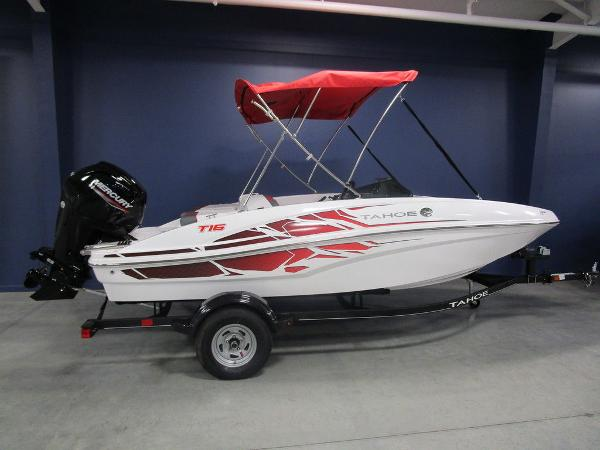 2021 Tahoe boat for sale, model of the boat is T16 & Image # 1 of 38