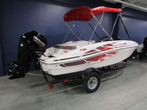 2021 Tahoe boat for sale, model of the boat is T16 & Image # 3 of 38