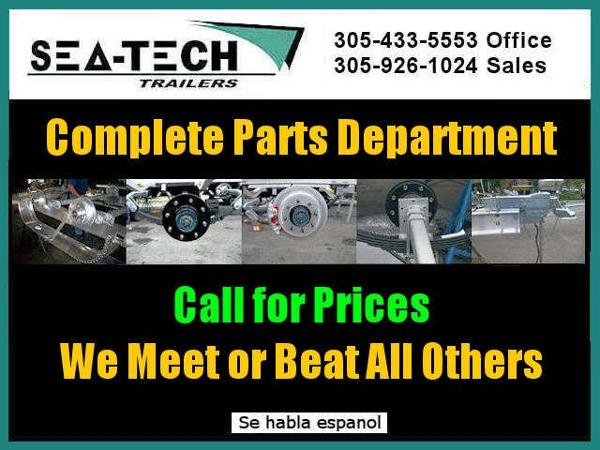 2021 SEA TECH Complete Parts Department image