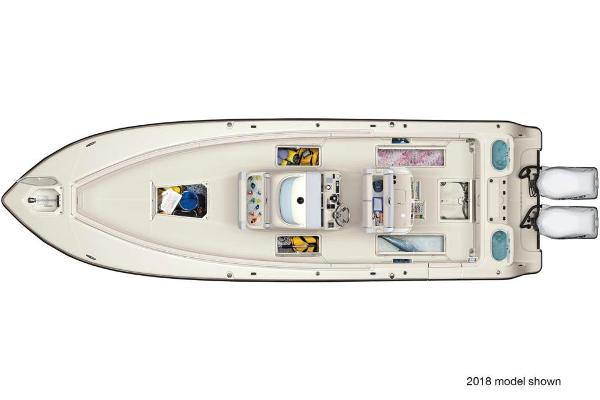2021 Mako boat for sale, model of the boat is 334 CC & Image # 3 of 3