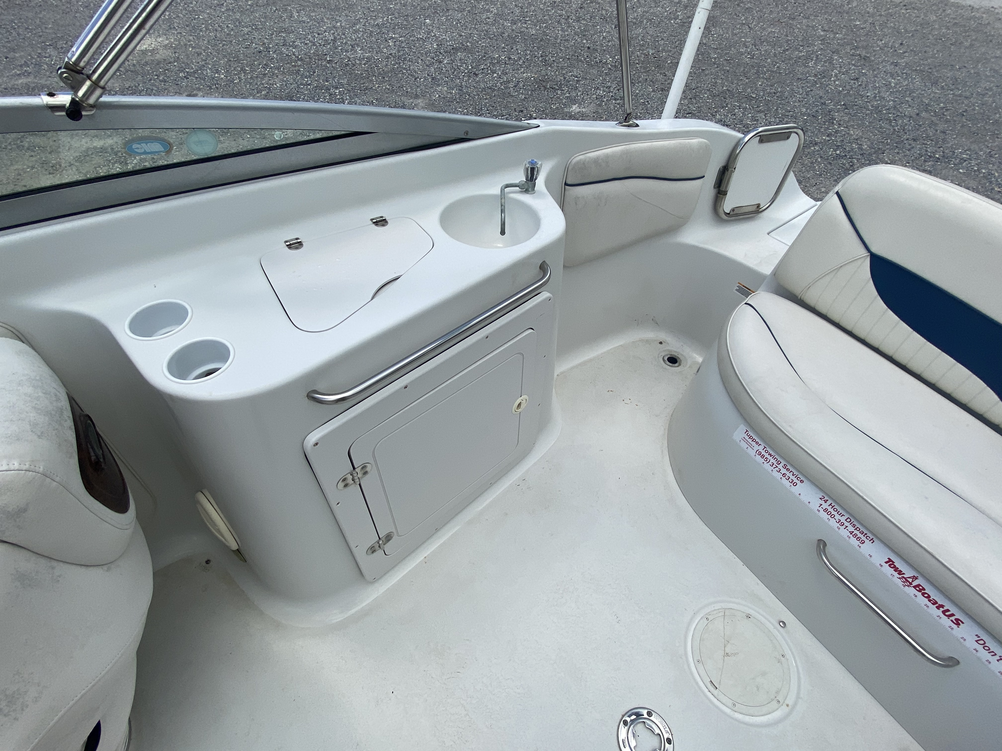 2005 Crownline boat for sale, model of the boat is 236 & Image # 3 of 17