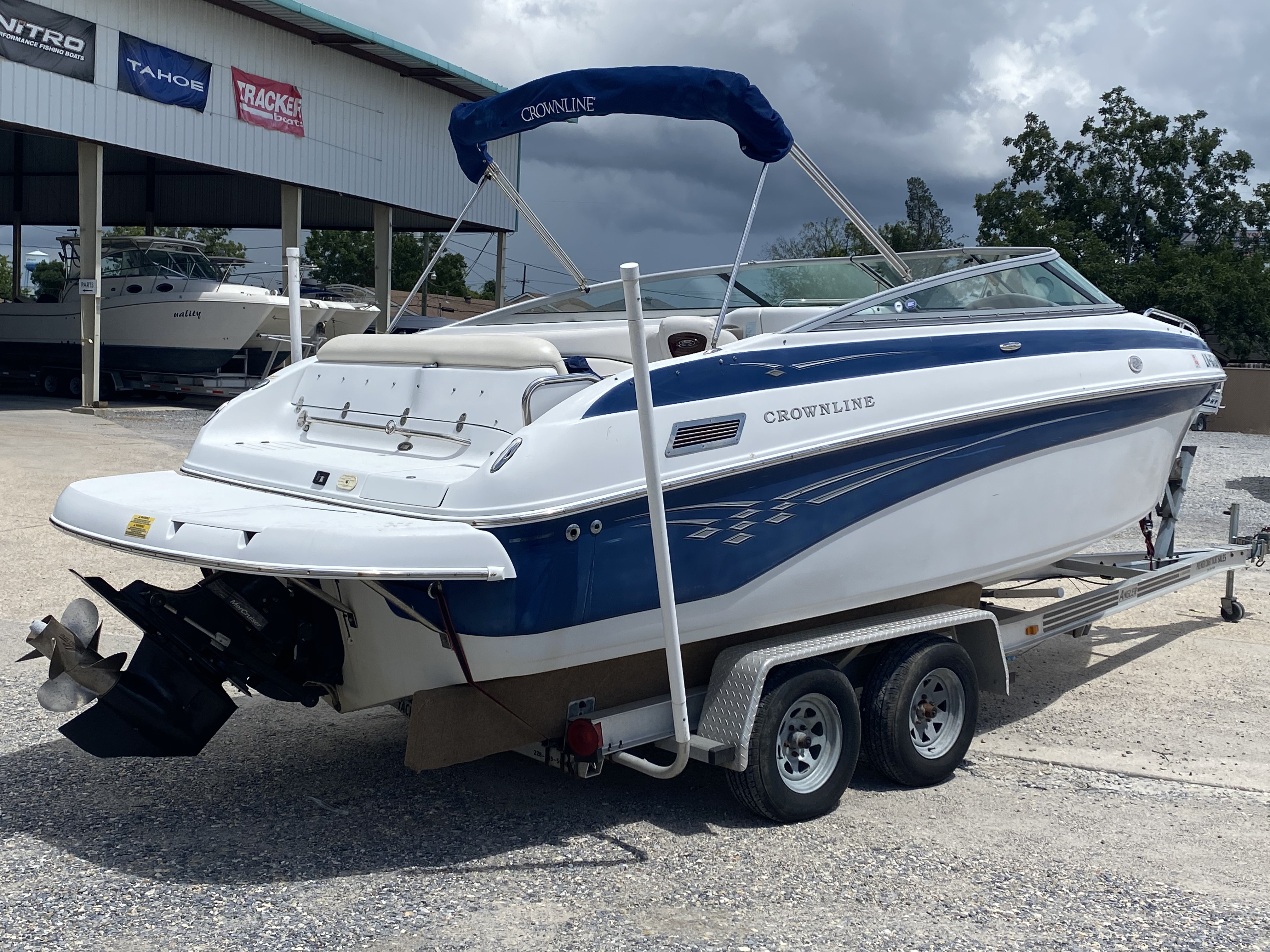 2005 Crownline boat for sale, model of the boat is 236 & Image # 6 of 17