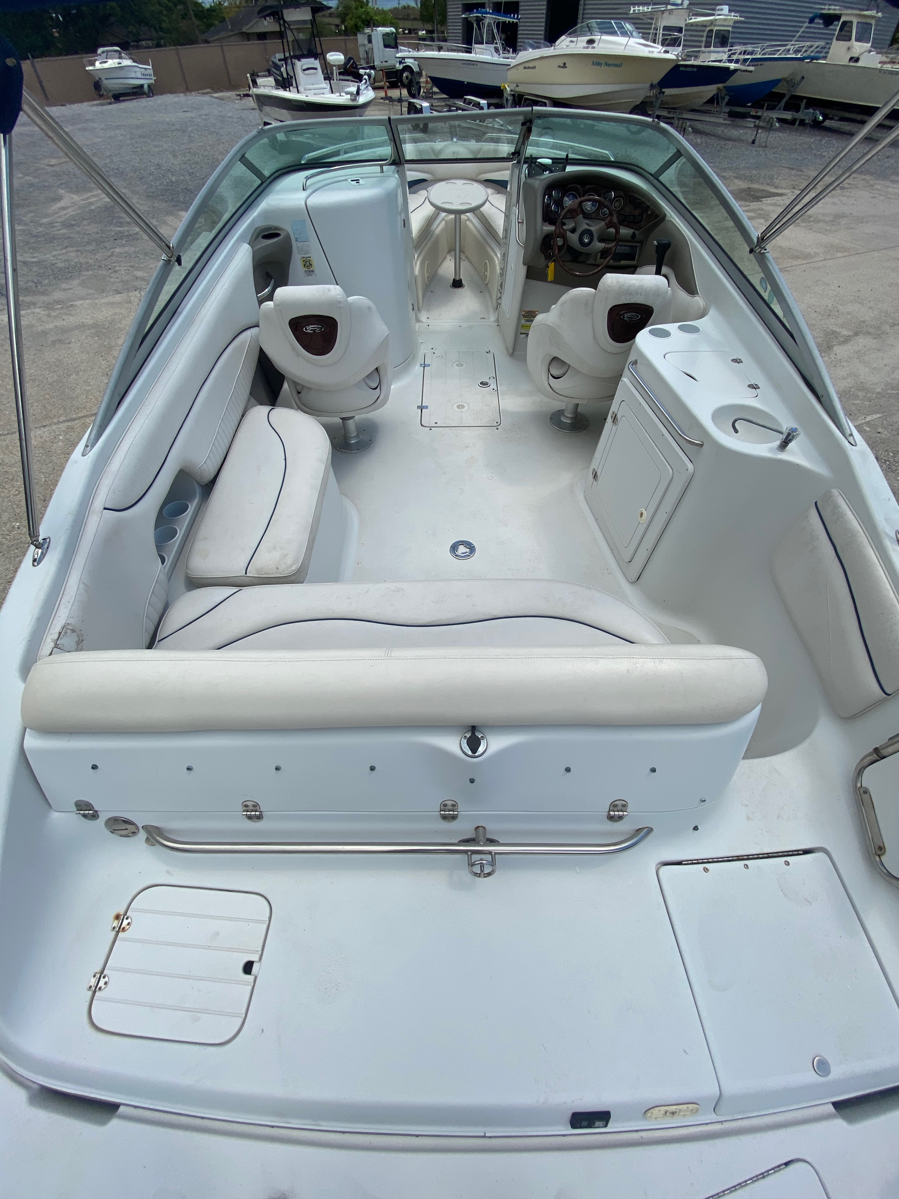 2005 Crownline boat for sale, model of the boat is 236 & Image # 12 of 17