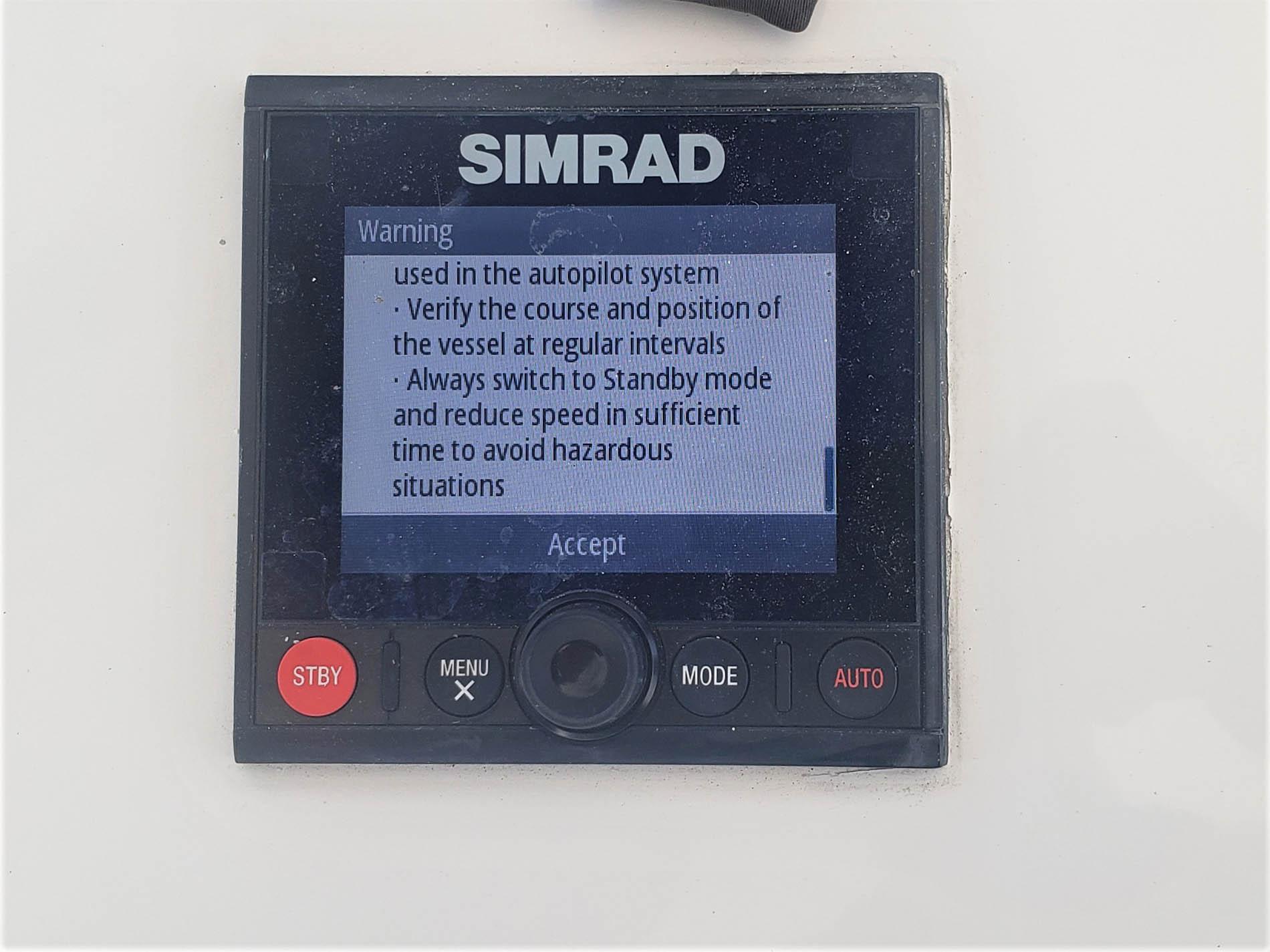 Simrad Autopilot