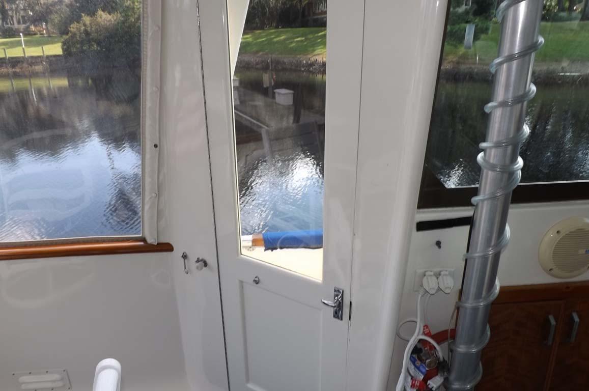 Aft Deck Door to Side Deck
