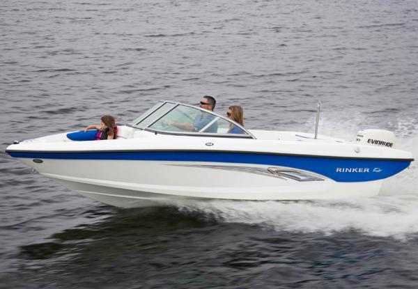 2014 Rinker boat for sale, model of the boat is Captiva 186 BR OB & Image # 1 of 4